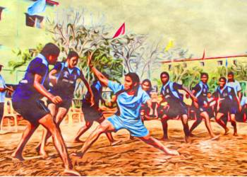 What are the skills, rules evolved from history of Kabaddi?