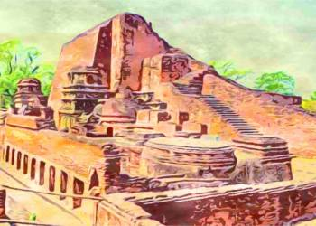What is some archival information about Nalanda University?