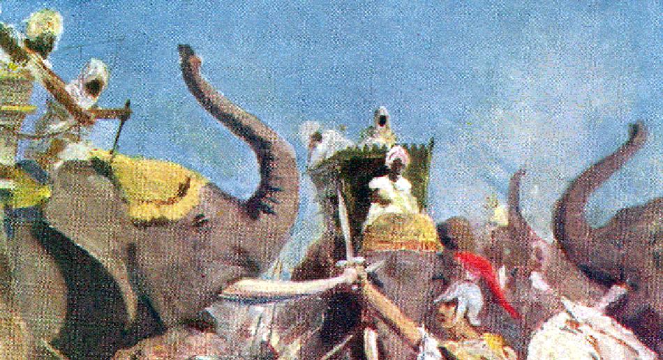 Porus Defeating Alexander