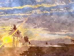 Sun Sandhya Time