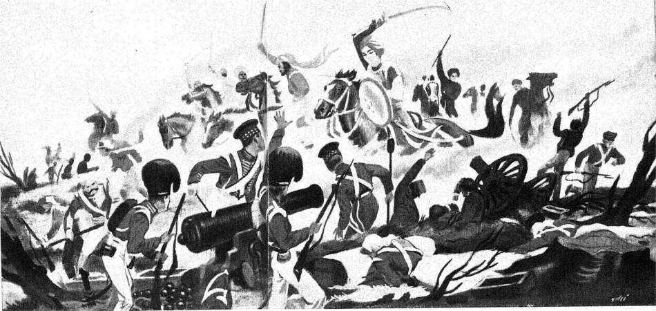 Lakshmibai fights British