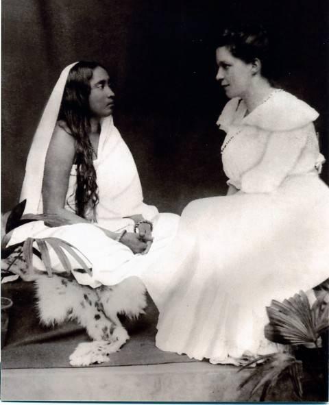 Sri Sharada Devi meets Sister Nivedita