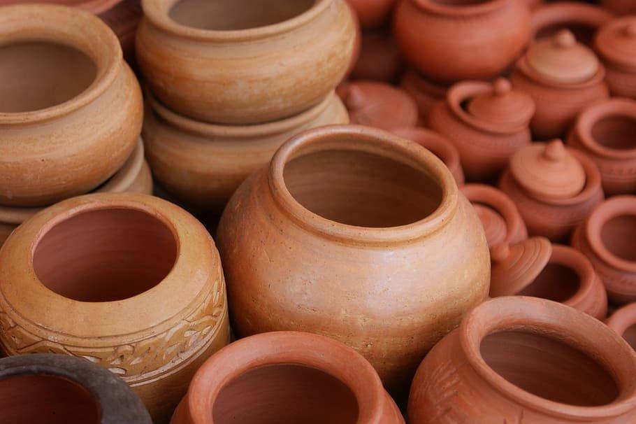 Water Clay Pot
