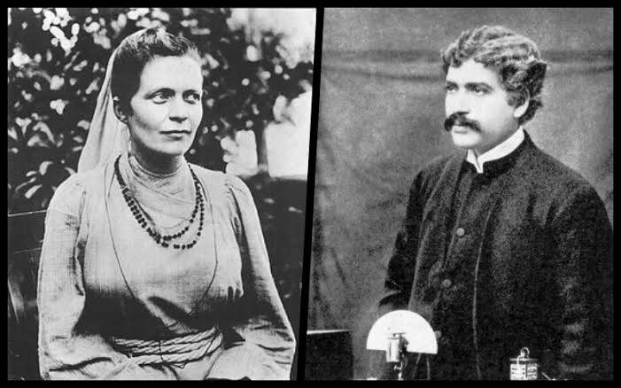 JC Bose and Sister Nivedita