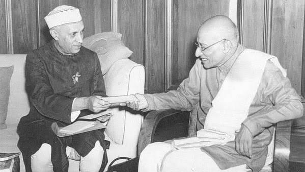 Rajaji with Nehru