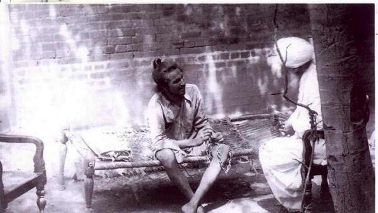 Bhagat Singh in Prison few days before his death