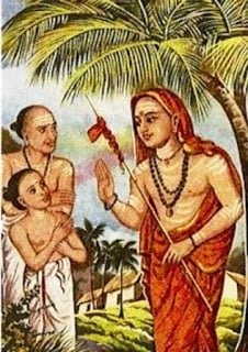 Adi Shankaracharya Identifying true talent from a so called dull boy