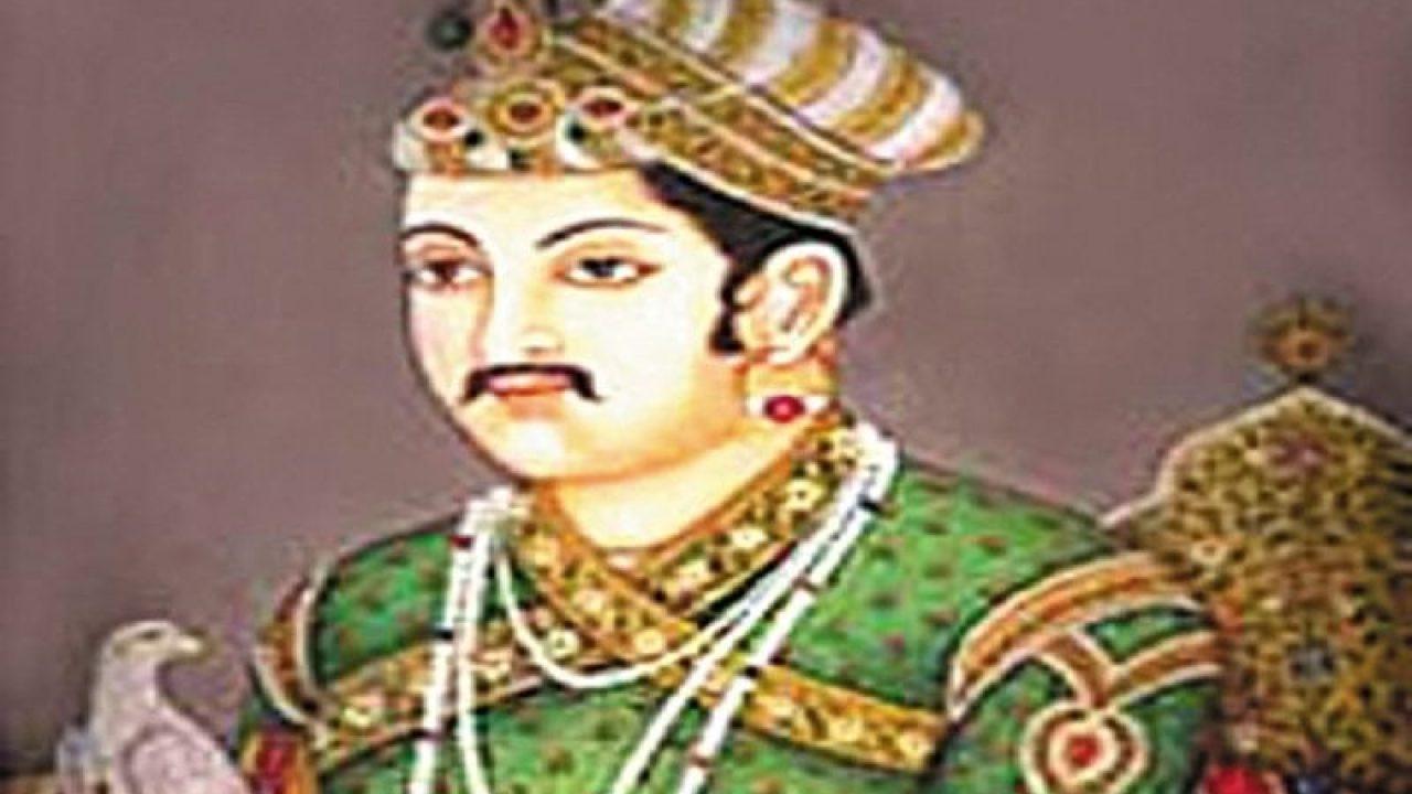 Akbar, tansen meet Mira Bai