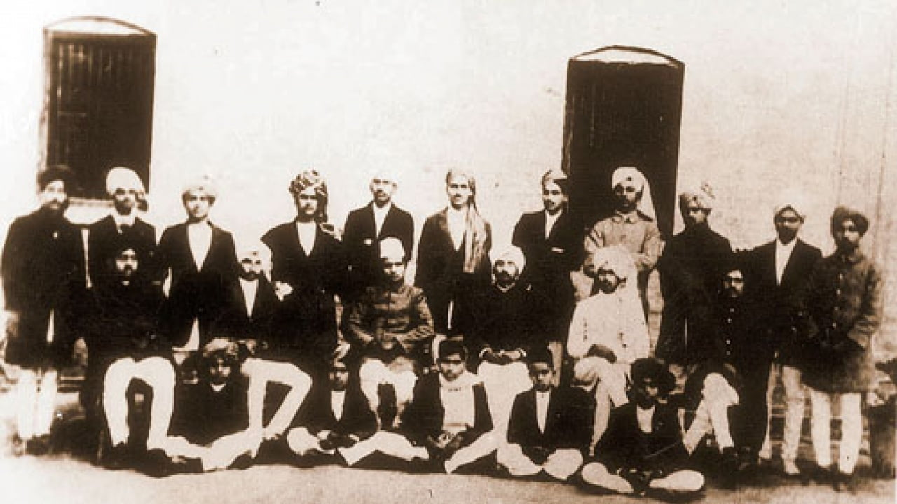Bhagat Singh at National College
