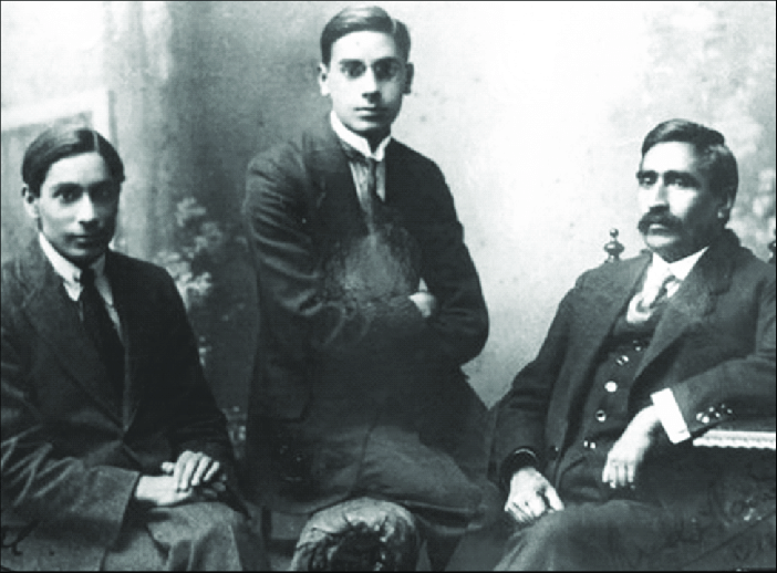 Birbal Sahni with his father