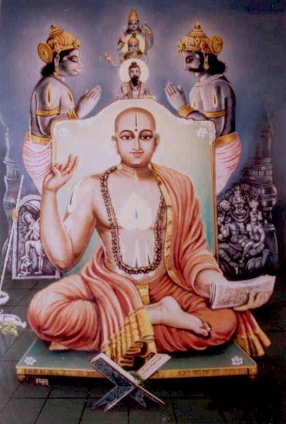 Madhvacharya, a godly being
