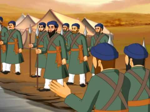 Madhvacharya daring to meet Khilji and Taught him about god