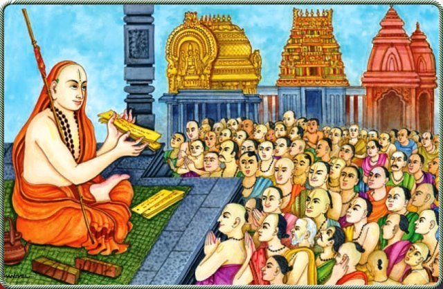 Madhvacharya in his discourses