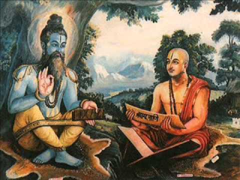 Madhvacharya with his Guru