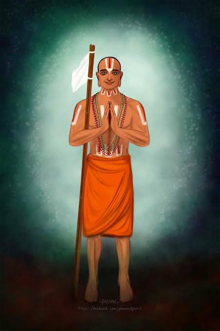 Ramanuja becomes Yatiraja