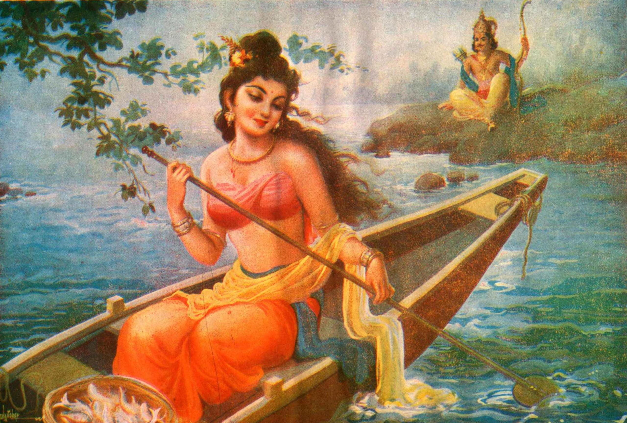 Shantanu sees Satyavati
