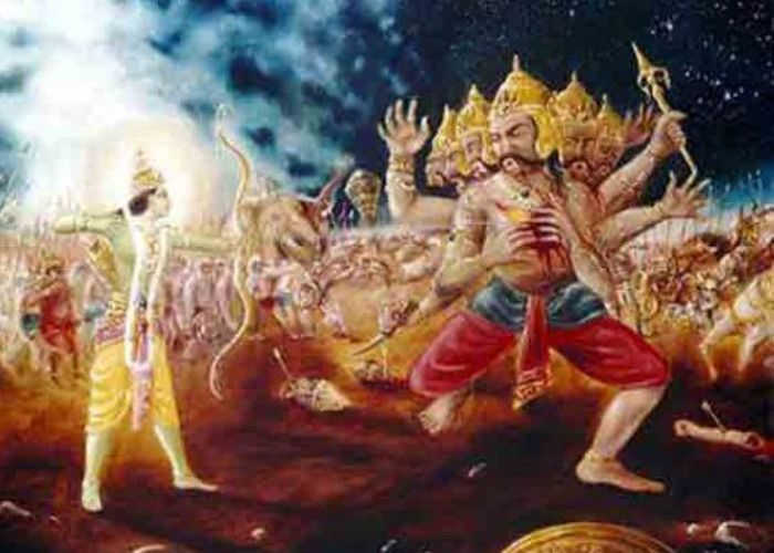 Srirama Killing Ravana
