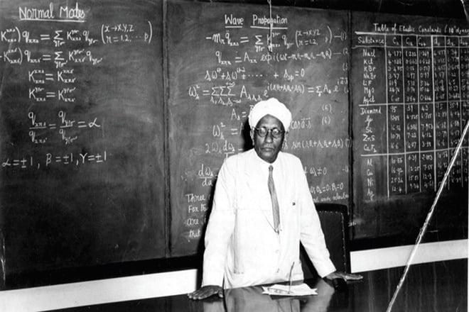 The Professor - CV Raman