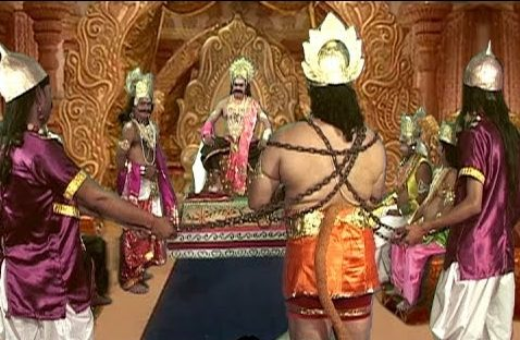 Vibheeshana Advising Ravana