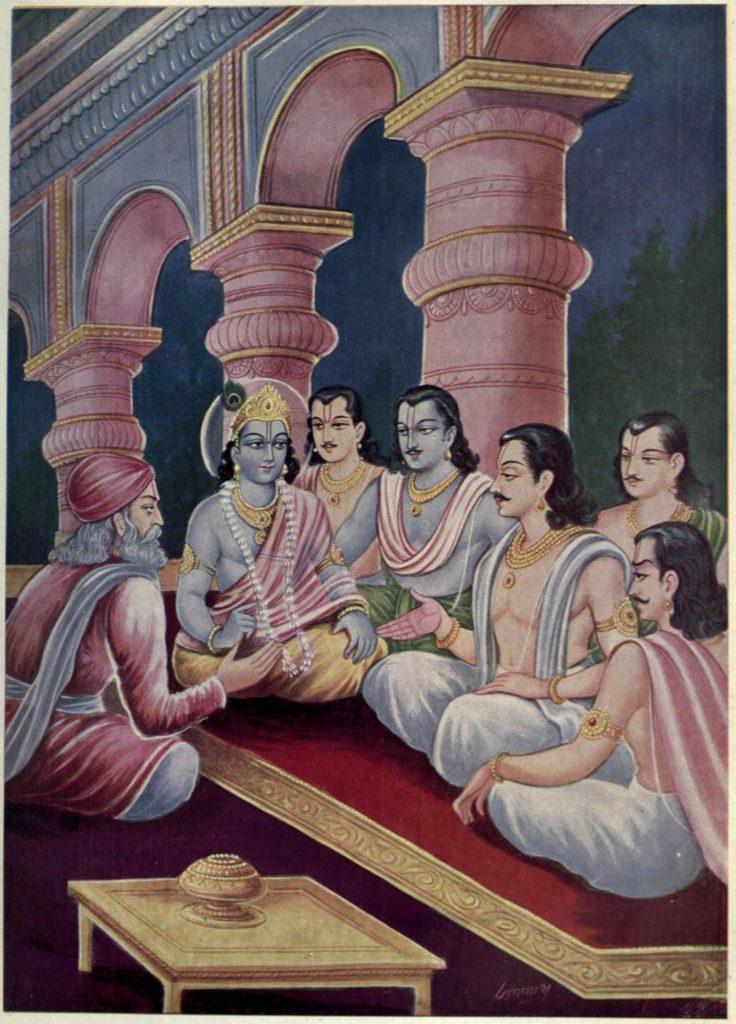 Vidura Advises Pandavas