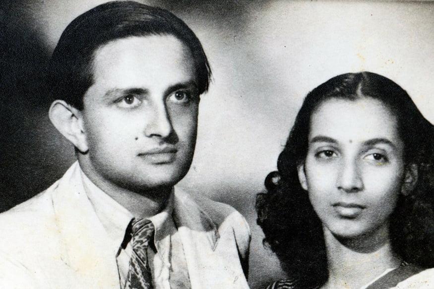 Vikram Sarabhai and his wife