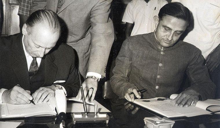 Vikram Sarabhai at the UN