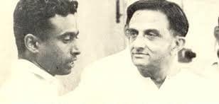 Vikram Sarabhai with his Student APJ Abdul Kalam