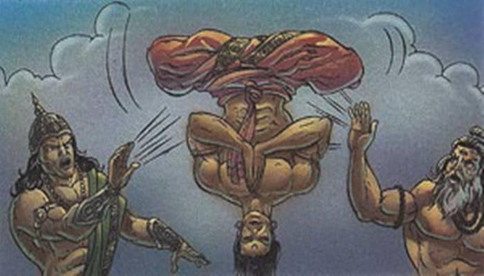Vishwamitra Trishanku Story