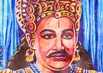 Vibhishana, the younger brother of Ravana who supported Rama