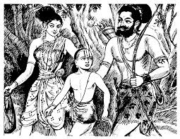Ramanuja Saved by Lord in the form of Hunter