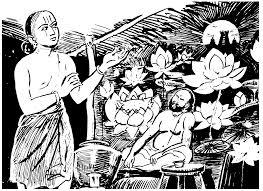 Ramanuja taking Vow