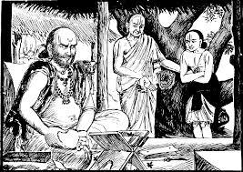 Ramanujacharya and his Guru Yadavaprakasha