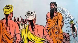 Ganga coming out of Sage Jahnu