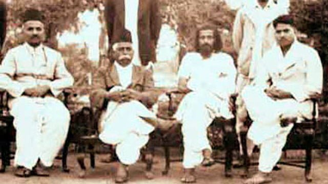 Guruji and Doctorji together