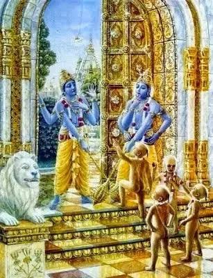 Jaya Vijaya cursed by Ashwini Kumaras