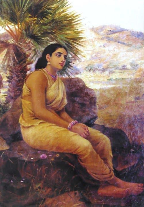 Lakshmana drops Sita and goes back