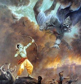 Lakshmana kills Indrajith
