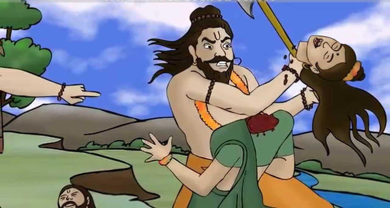 Parashurama Beheads his Mother Renuka