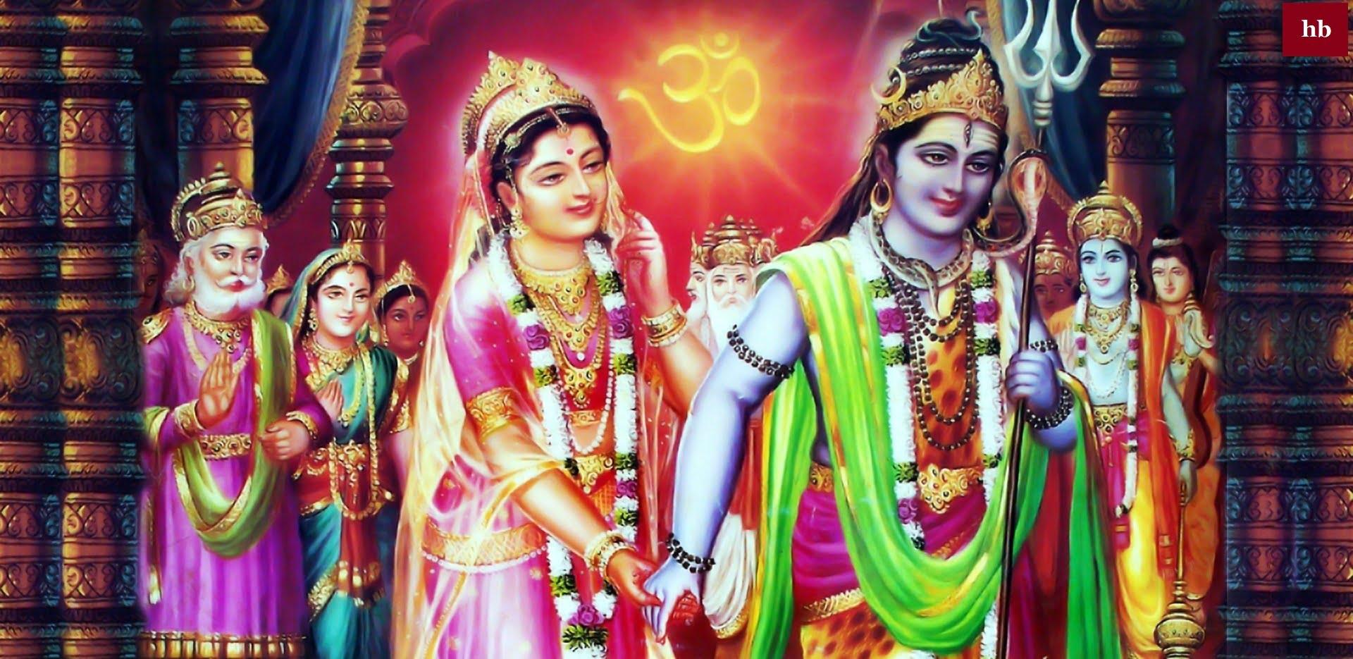 Parvati Weds Shiva