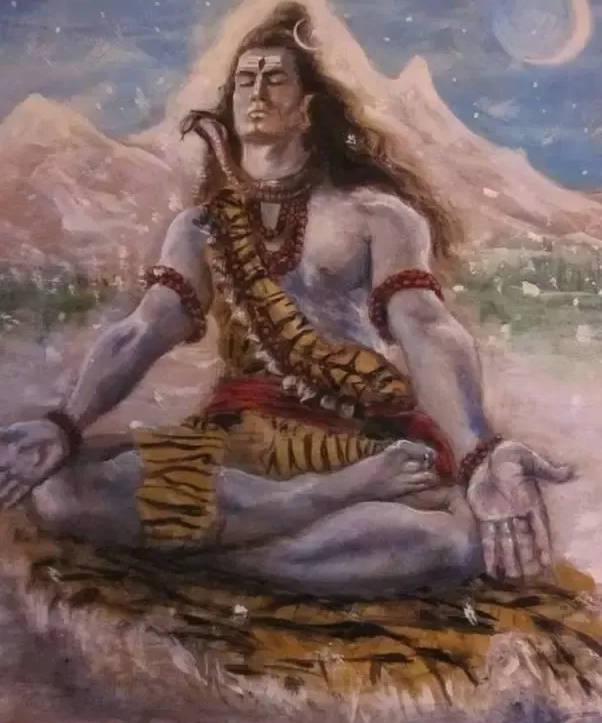 Shiva in Penance