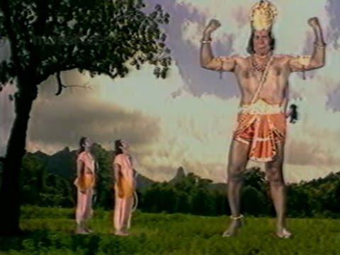 Sriram meet Hanuman for the first time