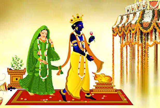 Tulsi and Vishnu marriage