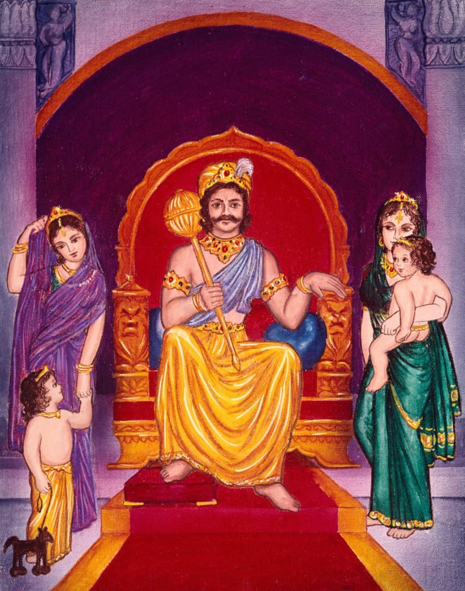 Uttanapada, Suniti. Suruchi, Dhruva and Uttama