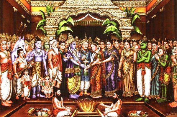 Srinivasa weds Padmavati in Tirupati