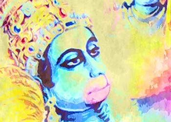 The story of Lord Hanuman from both Ramayana and Mahabharata