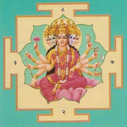 Goddess-Savitri