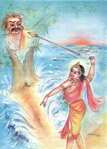 Kartikeya fights Shurapadman
