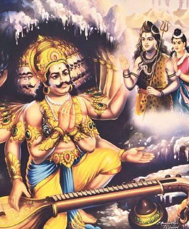 Agastya plays better Veena than Ravana