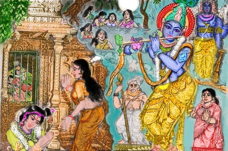 Tiruppavai - Andal praying