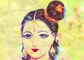 The biography of Andal: Devotee and husband of Lord Krishna